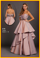 Taffeta Sleeveless Ankle-Length Free Shipping Strapless A line Beads Colorful Taffeta Sexy Floor length WOW Prom Evening Dresses Formal Party Pageant Dress Gowns 5135