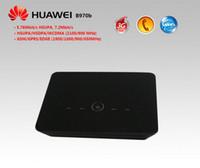 El módem del USB del ranurador de Huawei B970b 3G WiFi de 5pcs / lot unlock + EMS libera el envío