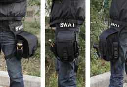 Wholesale SWAT MULTI MISSION Outdoor Leg Drop Waist Packs Belt Bags Pouch For CS Airsoft Camping Cycling Mountaineering