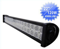 SMD 5050 4x4 - 120W LED Light Bar SUV ATV Off Road V WD x4 Jeep LED W Spot Flood Combo IP67