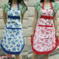 Wholesale Mom apron fashion cute princess apron rural style household kitchen apron