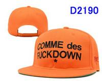 Red Ball Cap  Wholesale snapback hats design cap for men cheap hat COMME des FUCK DOWN mens fashion cap cheap snapbacks hat snap back hat free shipping
