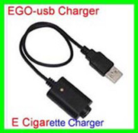 Wholesale High quality EGO USB Charger for EGO T C W VV LCD batteries USB charger E Cigarette Charger EGO Charger DHL