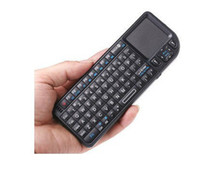Wholesale Big Discount GHz G Rii Mini Wireless Keyboard with Touchpad and Laser Backlight Bluetooth keyboard