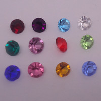 Wholesale 4 MM charms for locket Months Birthstone Round Crystal Rhinestones For Floating Locket