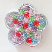 Wholesale MM chrams for locket Months Birthstone Round Crystal Rhinestones For Floating Locket