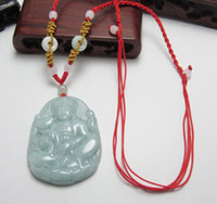 Wholesale New Special for a cargo of natural Burma jade Buddha pendant necklace jade Buddha pendant pendant male and female models f12554