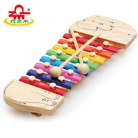 Wholesale Wooden Toys Wooden Animal amp Tone Musical Instrument Kid Educational Toy Musical Xylophone Christmas gifts
