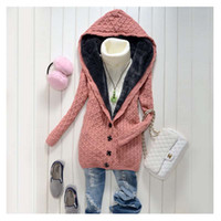 Cotton Regular Full Maternity coat jacket overcoat autumn winter thickened loose Hooded sweater cashmere sweaters clothes pregnant women clothing wear 6 colors