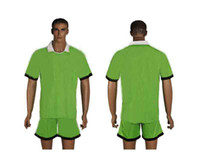 contact number - 2013 Club Team Home Green Jersey Short Adults Mens Soccer Kits able custom name number mix order contact me for more