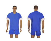 Wholesale 2013 Greece Away Blue Jersey Short Adults Mens Soccer Kits able custom name number mix order contact me for more