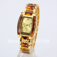 Unisex Rectangle 23 2013 HOT Brand New Women's M Watch Amber Band High Quality PC Movement Ladies Clock Hours Free Shipping Wholesale