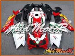 Addmotor обтекателя для Aprilia RS125 RS 125 2007 2008 2009 2010 2011 07 08 09 10 11 Красный Белый Зеленый A1212 + 5 бесплатные подарки