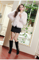Wholesale special only usd limited womens real Luxurious Ostrich feather turkey feather fur jacket women s jacket fur coat XS XL white color