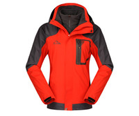 Wholesale Ladies Hiking Jackets Pieces Camping Jackets Red Womens Skiing Wear Anti Static Outdoor Sportswear for Girls Soft Womens Clothing S0402
