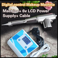 permanent makeup eyebrow best electric kit - Best Quality Pemanent Makeup Machine Kits R Permanent makeup Eyebrow Machie With Digit LCD Power Supply