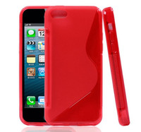 Colorful S Line Soft TPU Gel Clear Dustproof Case Cover For ...
