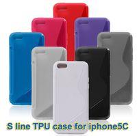 New Arrival Soft S Line TPU Gel Clear Case Dustproof Case Co...