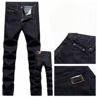 Men low price jeans - Lowest price fashion Men s Jeans Slim Fit Classic Jeans Straight Trousers Leg size