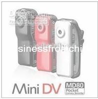 Wholesale Price Discount x480 FPS MD80 spy Mini DV DVR Sport Video Camera webcam Black RED SILVER