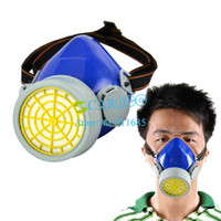 Work TK0857# April Fool's Day New Single Respirator Gas Mask protection filter Chemical Gas Respirator Face Mask Drop Shipping TK0857