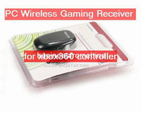 Wholesale Freeshipping Black Wireless USB Gaming Controller Receiver for PC Windows Xbox and Slim Wireless Controller Pad balck