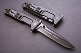 Wholesale EXTREMA RATIO Nemesis Thickness mm MM optional Tactical Folding Knife T6 Aluminum Handle C HRC FREESHIPPING