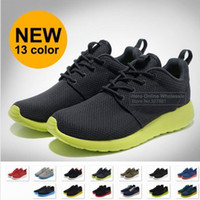 Wholesale SWOOSH LOGO NEW Brand Roshe Run Running for men Fashion Vintage Athletic Casual Sports Shoes Free Drop shippng sale
