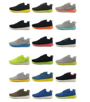 Wholesale SWOOSH LOGO NEW Name Brand Roshe Run Running for men Fashion Vintage Athletic Casual Sports Shoes Boys Mesh Free Run Sneakers On sale