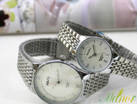 Wholesale 2013 Fashion Wristmatch Automatic Watch White black Delicate Stainless Steel Watch Mens Watch Master Luxury Watch