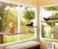 Wholesale 24pcs Window Mount Cat Bed Sunny Seat Cat Bed With Color Box Package