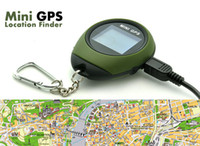 Wholesale mini GPS Tracker watch handheld keychain GPS Navigation Location finder PG03 for outdoor sports Travel