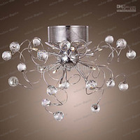 Wholesale LLFA37 Modern Crystal chandelier with Lights LED chandeliers