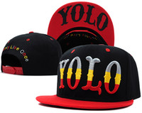 Blue Man Summer YOLO Snapback Hats cheap online baseball caps wholesale & dropshipping By People Being A New Fashion style
