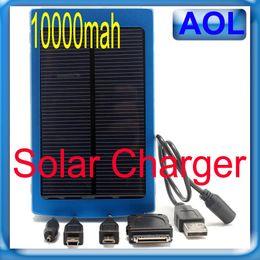 Высокая емкость солнечной батареи 10000mAh солнечной мобильный телефон зарядное устройство Power Bank 1.5W панели солнечных батарей для телефона HTC Pad Samsung MP3 MP4 solar power panel for sale от Поставщики солнечная панель питания