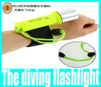 Wholesale 1600LM CREE XM L XML T6 LED Waterproof Diving Flashlight Lamp Torch Dive Underwater Hot Selling