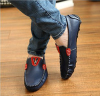 Wholesale NEW Korean Doug shoes slip on shoes casual shoes men driving the boat shoes white leather shoes