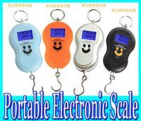 Wholesale 40kg electronic scales hanging said Mobile said courier said parcel scales crane scales Hook said portable