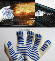 Wholesale oven glove ove glove as hot surface handler amazing home golves handler oven good quality factory price DHL free TV227
