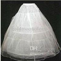 Kid's tulle petticoat - White Hoop TIER Wedding Dress Crinoline Best Selling Cheap A Line Tulle Bridal Petticoats Petticoat Underskirt