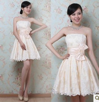 Wholesale 2013 newest bow waist Bra skirt toast the bride dress bridesmaid dress sisters
