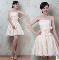 Wholesale 2013 newest bow waist Bra skirt toast the bride dress bridesmaid dress sisters