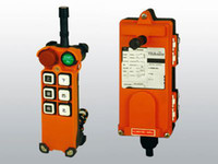 6 Transmitter & Receiver VHF: 310-331MHz UHF: 425-446MHz 6 Channels Control Industrial Crane Hoist Wireless Radio Remote Control Industrial Equipment