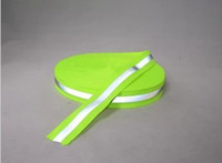 Wholesale 5cm reflective tape cm fluorescent green reflective ribbon