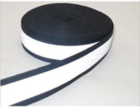 Wholesale 5cm reflective tape cm black reflective ribbon cm cm Bright silver reflective ribbon