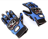 Wholesale Motorbike Motorcycle Racing Bike Cycling Protective Non slip Full Finger Gloves