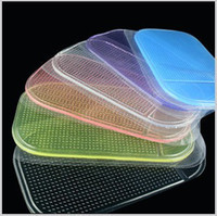 Silicon car mats - Silica Gel Magic Car Anti Slip Sticky Pad Mat Non Slip for PDA Mp3 MP5 GPS iphone G S GS ipod Samsung HTC Nokia
