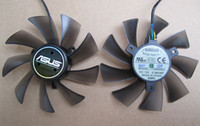 Wholesale Graphics card fan for ASUS HD7970 HD7950 GTX680 DirectCU II ENGTX580 DCII T129025SU V A