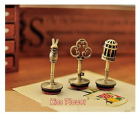 Wholesale New Vintage alice series metal rubber stamp set Decorative DIY funny work nice gift