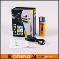 Wholesale 30FPS Mini DV Lighter Spy DVR Hidden Camera Camcorder with TF Crad Slot